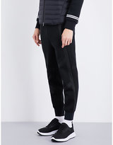 BLACKBARRETT Panelled cotton-blend jogging bottoms