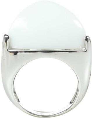 Eddie Borgo Silver Metal Rings
