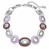 Dana Buchman Oval & Circle Link Chunky Necklace
