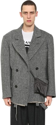 Maison Margiela Double Breasted Wool Jacket