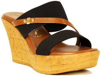Italian Shoemakers Topanga Wedge Heel Sandal