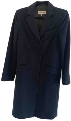 Cerruti Black Wool Coats