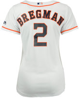 Majestic Women's Alex Bregman Houston Astros Cool Base Player Replica Jersey