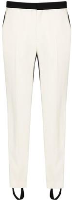 Wardrobe NYC Two Tone Slim Leg Trousers