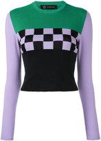 Versace Gridlock jumper - women - Cotton/Spandex/Elastane/Viscose - 42
