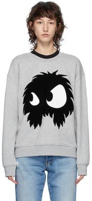 McQ Grey Chester Monster Sweatshirt
