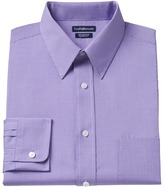 Croft & Barrow Men's Classic-Fit Mini-Checked Point-Collar Dress Shirt