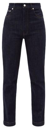 Dolce & Gabbana High-rise Straight-leg Jeans - Denim