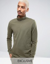 Puma Longsleeved Turtleneck T-Shirt In Green 57444001