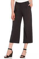 Antonio Melani Drita Bi-Stretch Cropped Wide Leg Pant