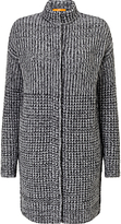 HUGO BOSS BOSS Orange Warlotte Knitted Coatigan, Charcoal