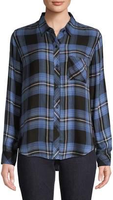 Rails Plaid High-Low Shirt