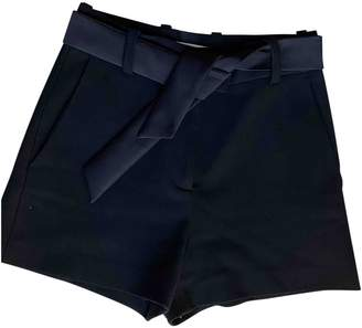 Maje Fall Winter 2019 Black Polyester Shorts