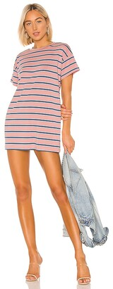 superdown Katrina Stripe Shirt Dress