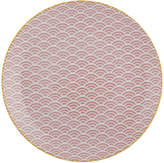 Design Studio Tokyo Starwave Dinner Plate - Small Wave - Pink/Yellow