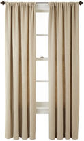 JCPenney Home ExpressionsTM Cassidy Room-Darkening Rod-Pocket Curtain Panel
