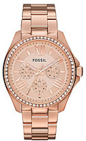 Fossil Cecile Rose Gold Multifunction Watch