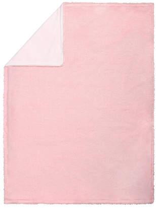 Trend Lab Pink Plush Baby Blanket Bedding