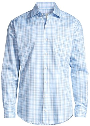 Peter Millar Sanford Grand Tartan Sport Shirt