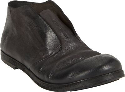 Marsèll Distressed Slip-On Shoes