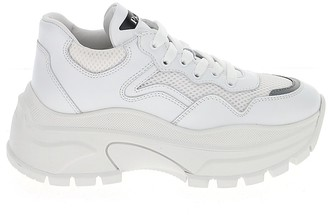 Prada Mesh Panelled Sneakers
