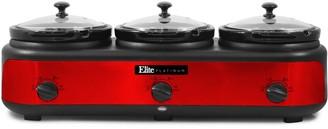 Elite Platinum Triple Slow Cooker Buffet