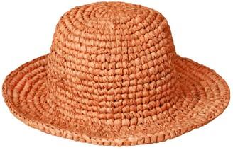 Brunna.Co Kirana Raffia Boater Hat, In Camel Beige