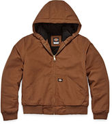 Dickies Sanded Duck Hooded Zip Jacket - Boys 8-20