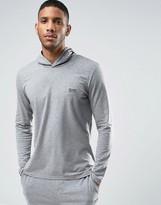HUGO BOSS BOSS By Hooded Long Sleeve Top