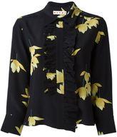 Marni Dawntreader ruffle blouse