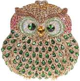 Santimon Women Clutch Purse Wallet Crystal Evening Bags 3D Owl with Removable Strap and Gift Box