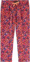 Catimini Flowing fancy print pants