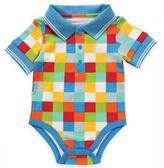 Rockin' Baby Seaside Multi Square Polo Bodysuit