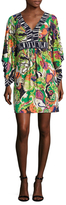 Trina Turk Kairi Printed Flared Dress