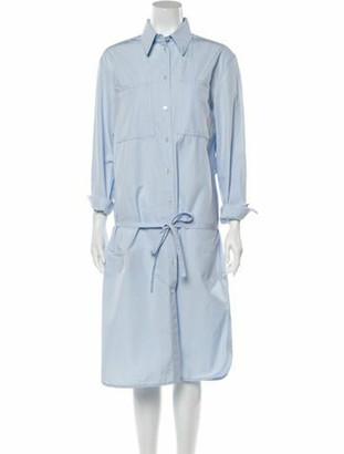 Calvin Klein Knee-Length Dress Blue Knee-Length Dress