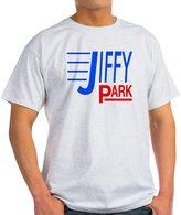 "CafePress - Jiffy Park"" Ash Grey T-Shirt - Unisex Crew Neck Cotton T-Shirt, Comfortable & Soft Classic Tee with Unique Design"