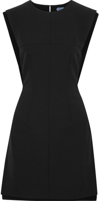 Thierry Mugler Open-back Cady Mini Dress