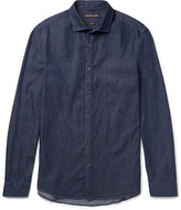 Michael Kors Slim-Fit Denim Shirt