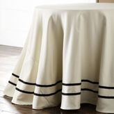 Philippe with Dot Band Round Tablecloth