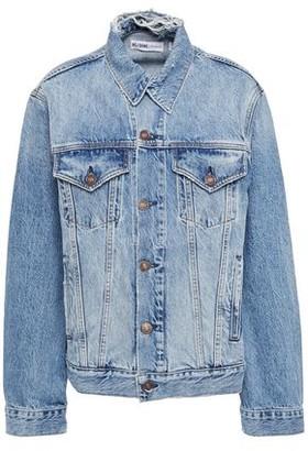 RE/DONE Distressed Denim Jacket