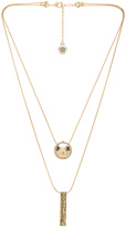 House Of Harlow Scutum Double Pendant Necklace
