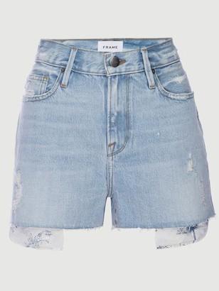 Frame Le Beau Short Toile Peaking Pocket Bag