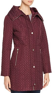 Kate Spade Chevron-Quilted Coat