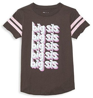 Chaser Girl's Big Sis Jersey T-Shirt