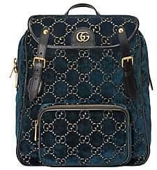 Gucci Women's Small GG Velvet Backpack