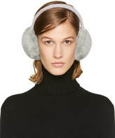Yves Salomon Grey Fur Earmuffs