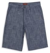 7 For All Mankind Boy's Chambray Bermuda Shorts