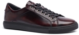 Tommy Hilfiger Burgundy Leather Sneaker