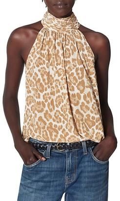Joie Erola Leopard Silk Halter Top