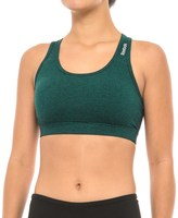 Reebok Align Curve Sports Bra - Medium Impact, Racerback, Removable Cups (For Women)